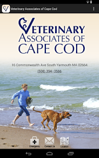Cape Cod Veterinary Associates- screenshot thumbnail