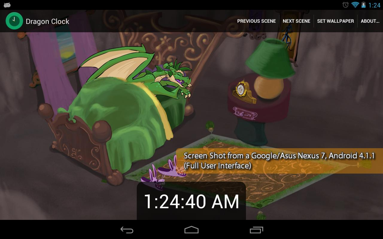 Dragon Clock- screenshot