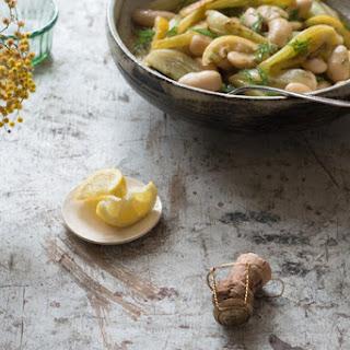 Giant Lemon Fennel Beans