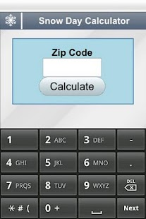 Snow Day Calculator - screenshot thumbnail
