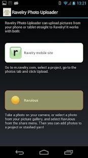 Ravelry Photo Uploader - screenshot thumbnail