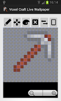 Screenshot of Voxel Craft Live Wallpaper