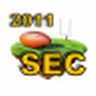 2011 SEC Football Schedules icon