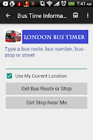 Screenshot of London Bus Timer - Free