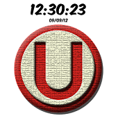 Universitario Digital Clock