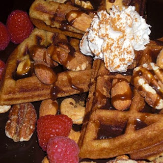 Sweet Yeast-Raised Waffles