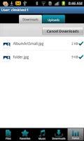 Screenshot of mydlink Cloud app