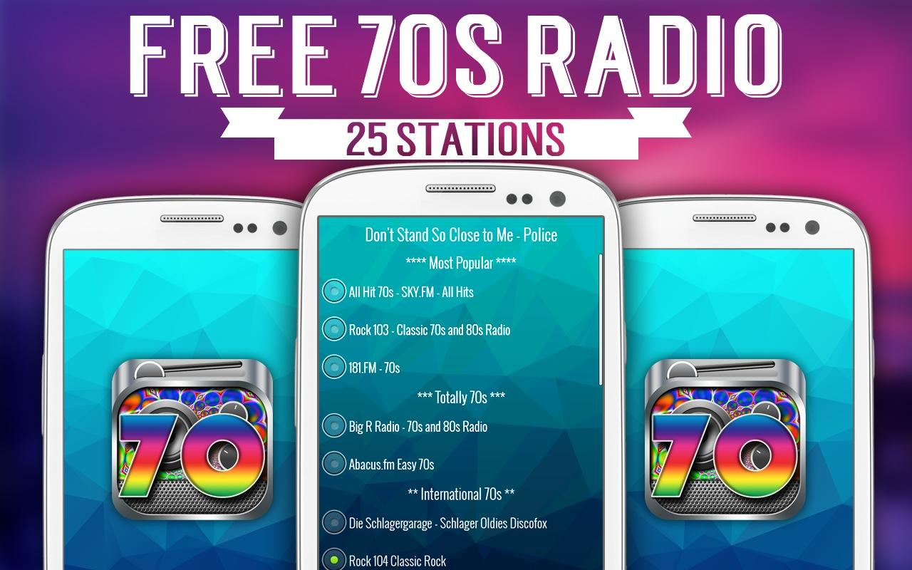 Free 70s Radio- screenshot