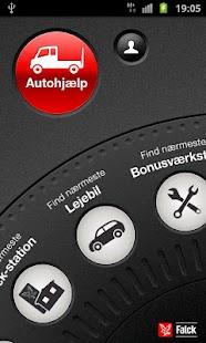 Falck Vejhjælp- screenshot thumbnail