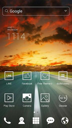 【免費個人化App】Before Sunset dodol theme-APP點子