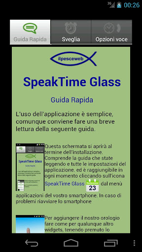 玩個人化App|SpeakTime Glass widget免費|APP試玩
