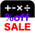 salecalc Calculate Save Price icon