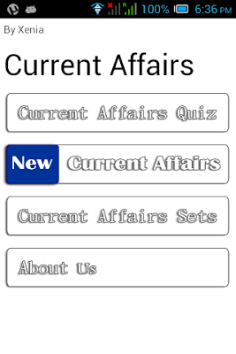 Daily Current Affairs GK Quiz - screenshot