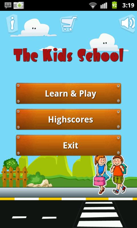 The Kids school (English) - screenshot