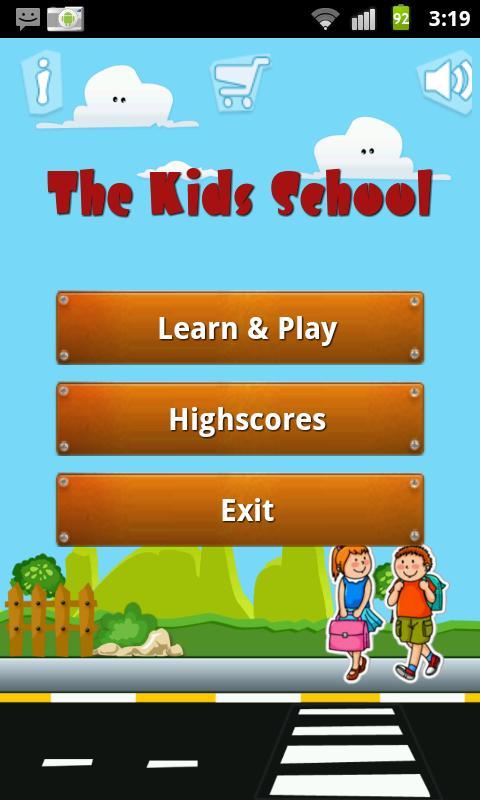 The Kids school (English)- screenshot