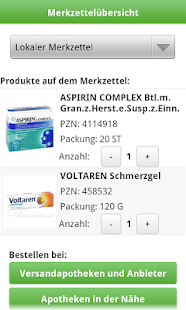 Medikamente-Preisvergleich - screenshot thumbnail