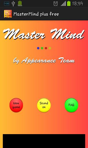 MasterMind plus free