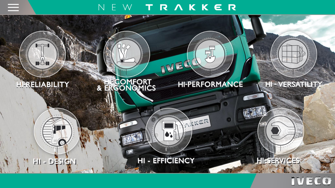 IVECO NEW TRAKKER phones- screenshot