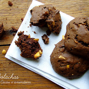 Cocoa and Peanut Biscuits