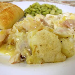 Chicken & Dumpling Casserole.