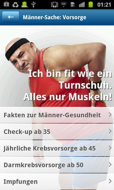 Gesundheit, Männer!- screenshot