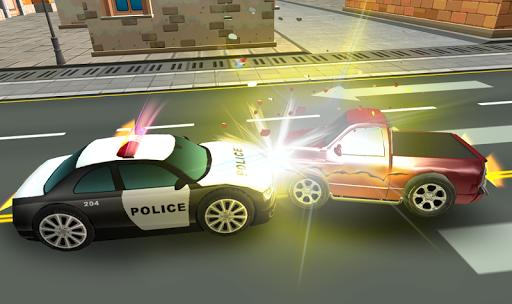 警車賽車(3D)
