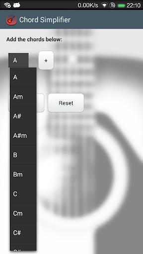 Chord Simplifier