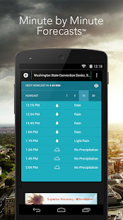 MinuteCast by AccuWeather - screenshot thumbnail