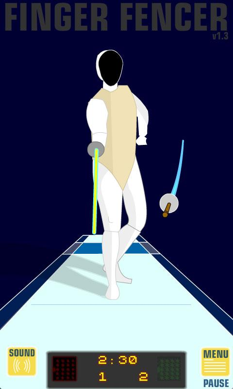 Finger Fencer- screenshot