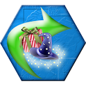 Christmas Match 3 Connect Hex icon