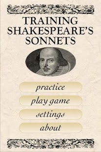 Shakespeare Sonnet Trainer- screenshot thumbnail