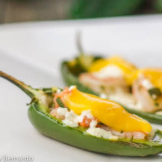 Jalapeno Shrimp Poppers With Mango Sauce.