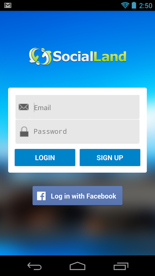 Socialland- screenshot
