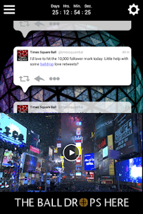 Times Square Official Ball App - screenshot thumbnail