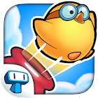 Chick - A -Boom - Poultry Cannon Launcher Game icon