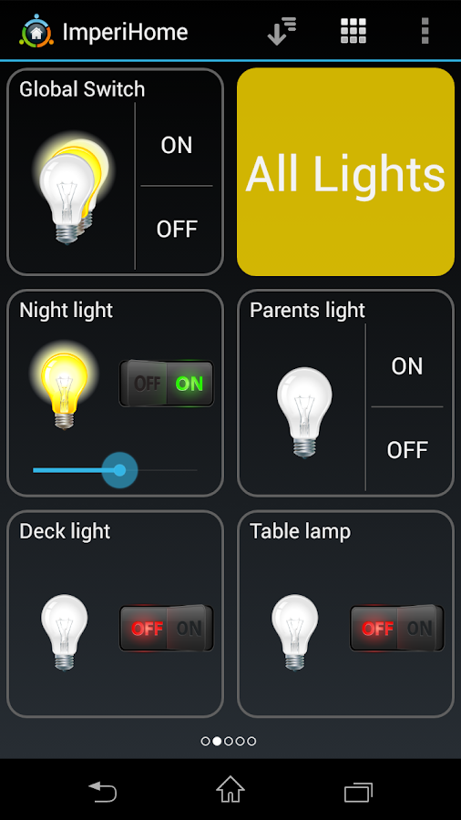 ImperiHome - Smart Home Automation- screenshot