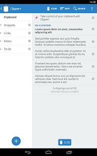 Clipper - Clipboard Manager Screenshot 14