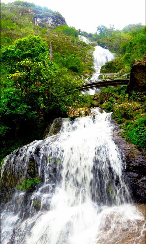 Cachoeira papel parede animado screenshot