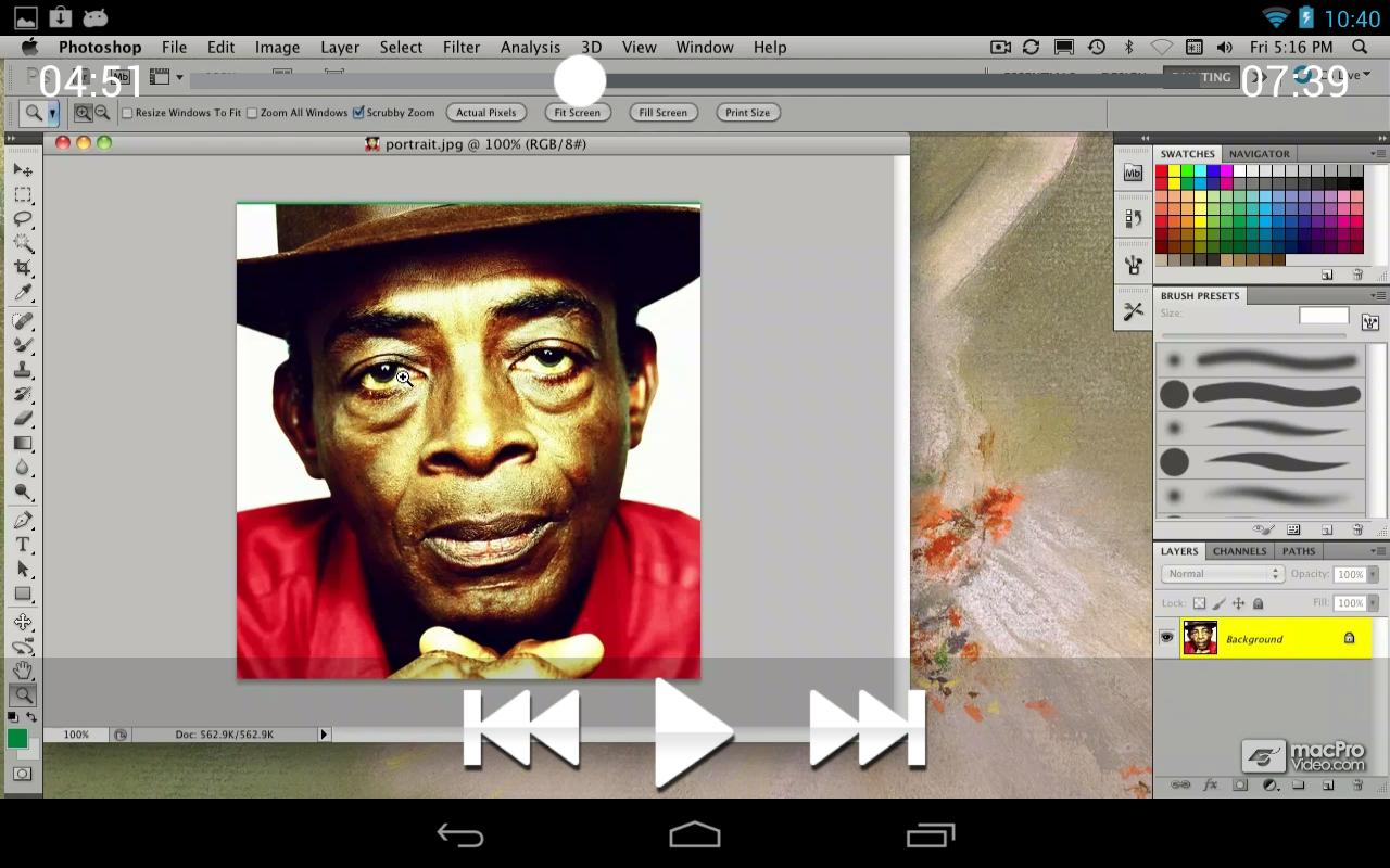 Photoshop CS5 101 - screenshot