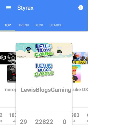 Styrax Prototype 社交 App LOGO-APP試玩