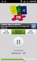 Screenshot of Odisha FM Radio