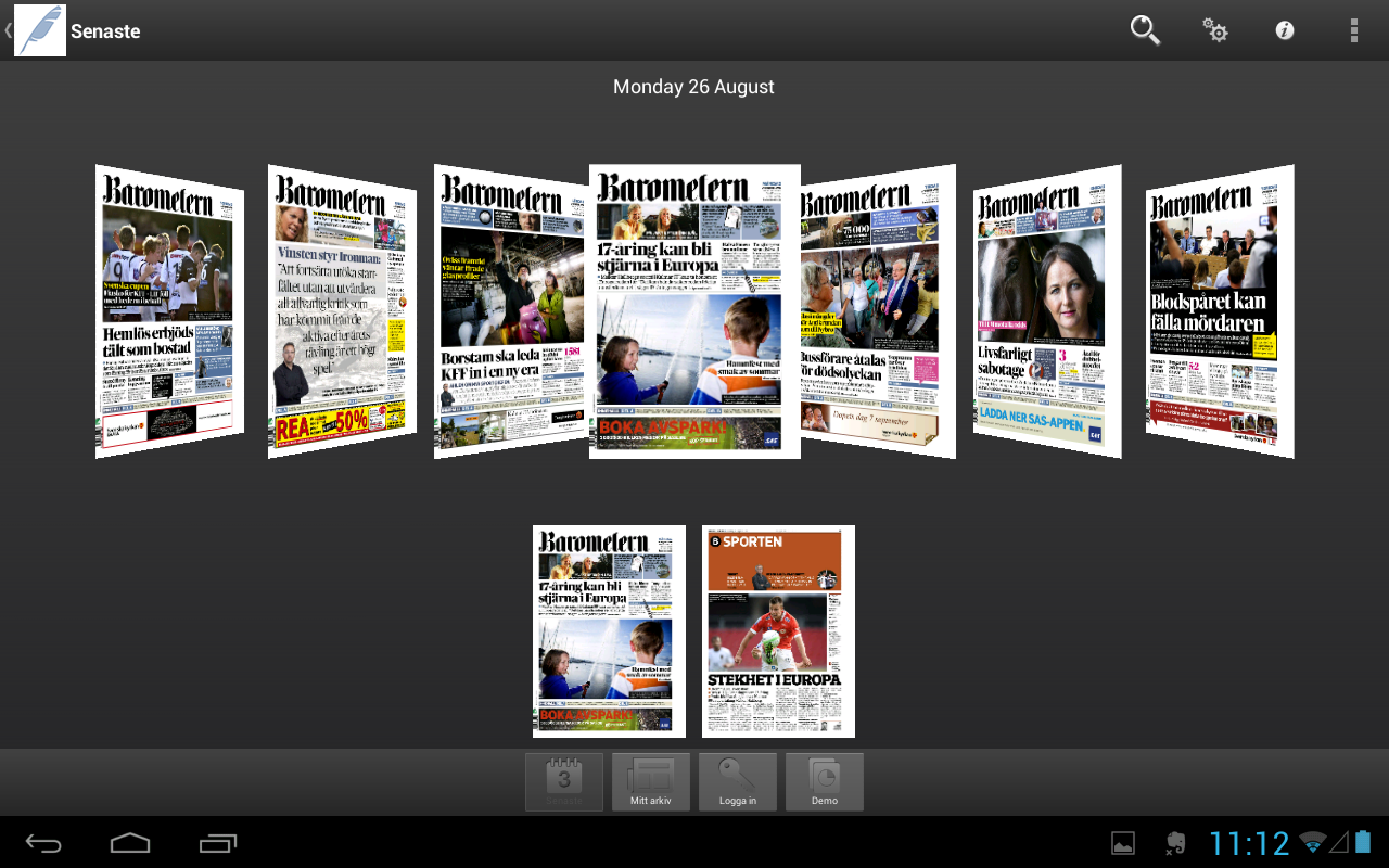 Barometern-OT - screenshot