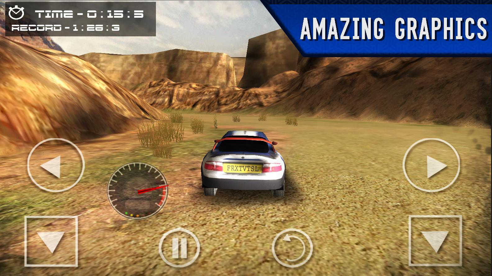 XPro Rally- screenshot