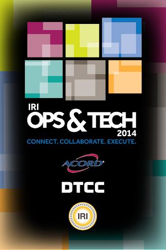 IRI Ops Tech 2014