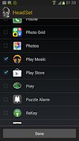 Screenshot of HeadSet