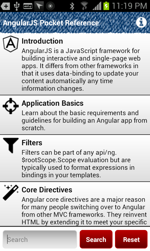 AngularJS Pocket Reference - screenshot