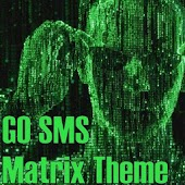 GO SMS PRO Matrix Theme