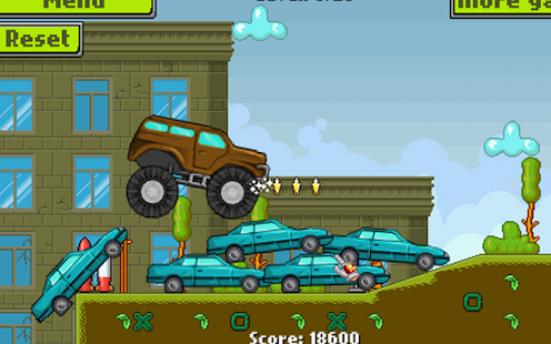 Army Monster Truck Race - screenshot thumbnail