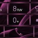 Dialer MetalGate Pink theme