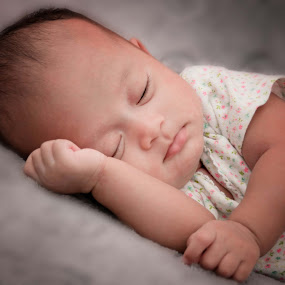 baby sleeping by Muhamad Firman - Babies & Children Babies